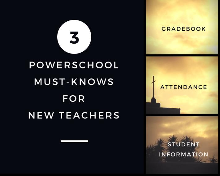PowerSchool for New Teachers